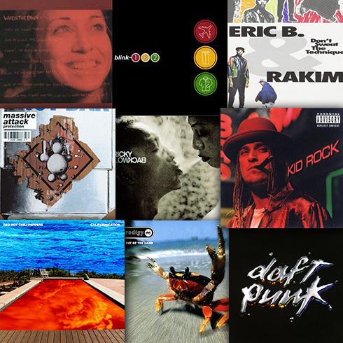 「私を構成する9枚のアルバム」若かりし頃の思い出の洋楽アルバムのアイキャッチ画像