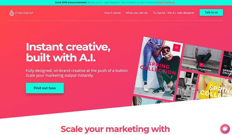 WEBデザイナーはAIに職を奪われるぞ-FIREDROPの脅威-のアイキャッチ画像