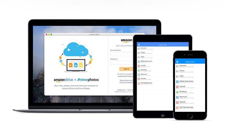 Amazon Drive(アマゾンドライブ)、Prime Photo(プライムフォト)でデータ管理!設定方法・使い方のアイキャッチ画像