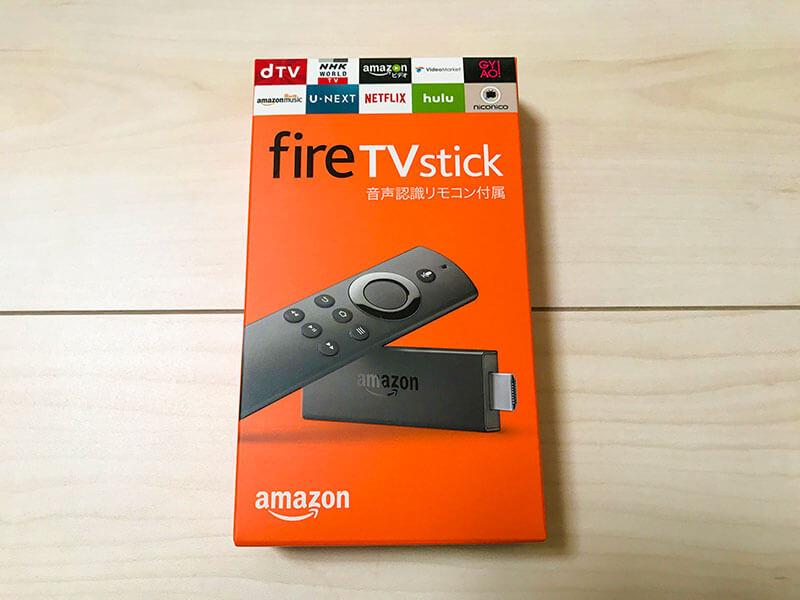 AmazonのFire TV Stick購入レビュー!スペックや初期設定・使い方の説明までのアイキャッチ画像