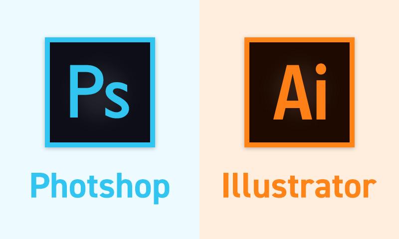PhotoshopとIllustratorのイメージ画像